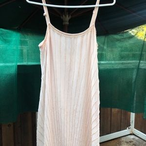 Forever 21 light pink sequin dress size s